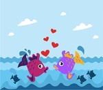 fishes vector free download