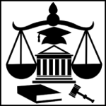 courthouse legal help vector