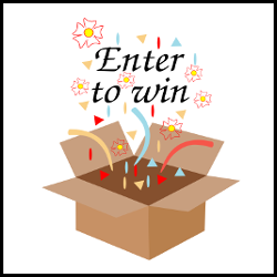 Enter to Win Prizes Vector Illustration
